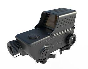 Meprolight Mepro M5 Red Dot Sight 3D model PBR