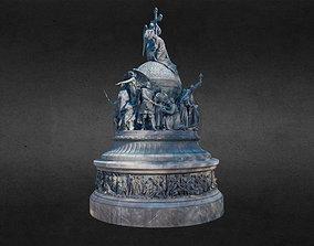 The Millennium of Russia Monument 3D
