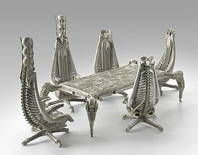 3D Harkonnen Table and Chairs