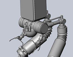 NieR Automata Pod 042 Model Work In Progress