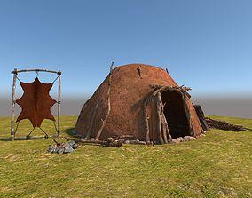Neolithic House 3D model
