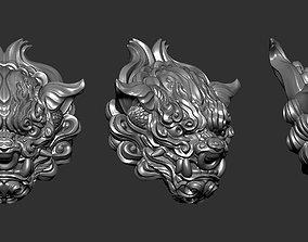 Chiness LionHead 3D print model art