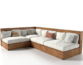 3D model furniture Outdoor Sofa