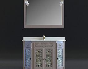 3D model Macral Castilla bathroom furniture