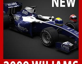 F1 2009 ATandT Williams Toyota FW31 3D model