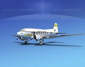 3D Douglas C-47 Dakota USAF V03