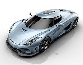 3D print model Koenigsegg-Regera-Lithophane-Lightbox