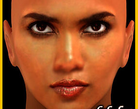 Halle Berry 3D model