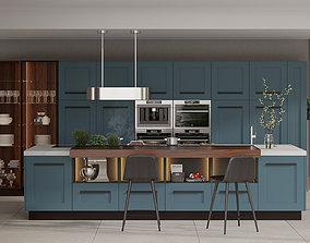 3D model Kitchen AEG