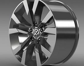 3D VW Beetle TDI 2012 rim