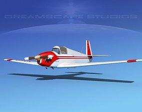 3D model Mooney M-18 Mite V01