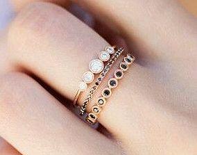 3D printable model white Love ring