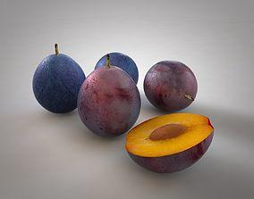 3D model Damson berry