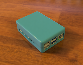 3D print model Rasberry Pi 4 Case