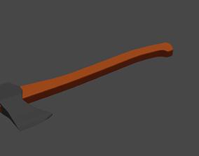 blender 3D Simple Axe