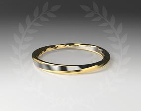 Twist Moebius Ring 3D print model