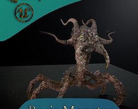 Boris Monster 3D model animated