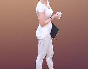 3D asset Anastasia 10491 - Walking Doctor Assistant