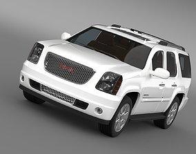 3D GMC Yukon Denali flex fuel 2014