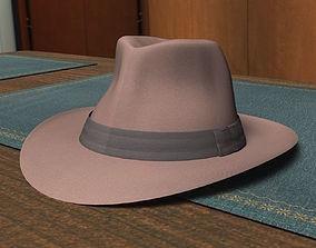 3D asset Fedora Hat