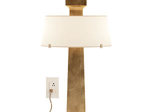 Patmos Table Lamp distresed 3D model