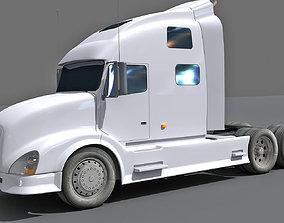 White Detailed Truck 11 3D