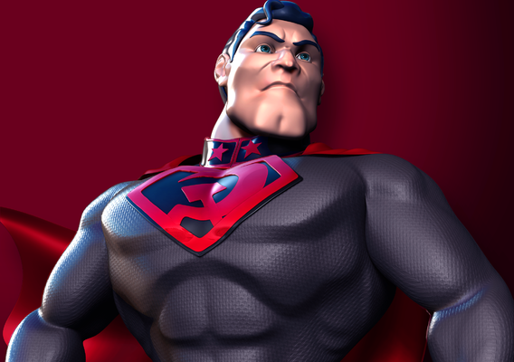 Superman Red Son - fan art