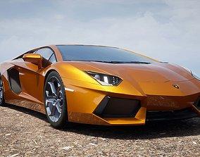 aventador Lamborghini Aventador 3D model