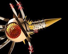 Pathogenic Organism 3D model