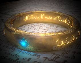 Ring of The Power 3D model