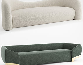 Parisian and Italian sofa 3D