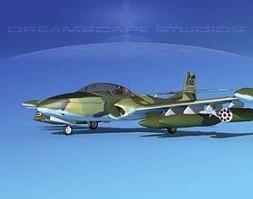 3D model Cessna A-37 Dragonfly Honduras