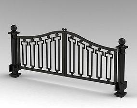 3D Gates with cast column