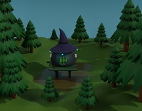 Mystical place 3D model