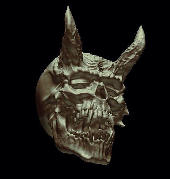 Demon skully