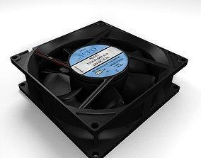 12V Brushless DC Fanmotor 3D model