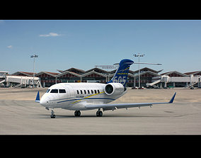 Bombardier Challenger 605 3D model