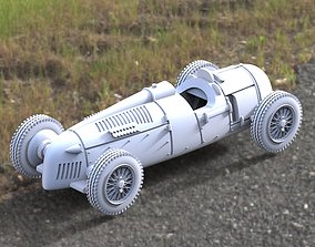 car racing 3D printable model
