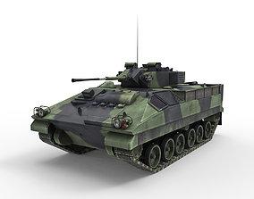 Armored car 3D asset