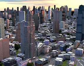 Real time city 13 3D model