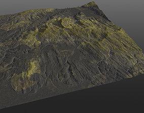 3D model Realistic Norway Terrain