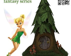 3D model Fairy home fantasy series