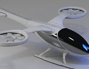 Futuristic Drone 1 3D