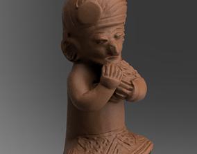 statue sculpture bois 3D printing