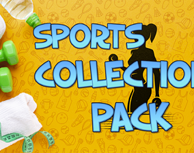 Sports Collection Pack 3D model