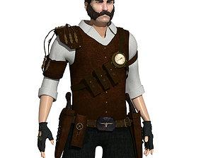 3D model Steampunk Sheriff