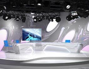 Virtual TV Studio 07 3D