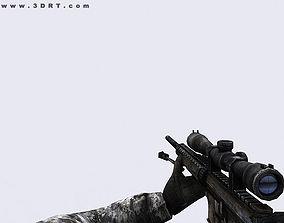 animated 3DRT - Modern Firearms Animated - MK-12