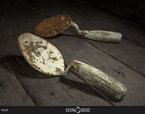 game-ready Trowel - Photogrammetry Asset 3D PhotoScan 2