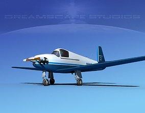 3D model Mooney M-18 Mite V10